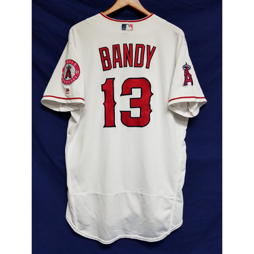 Photo of Jett Bandy 2016 Game-Used Home Jersey