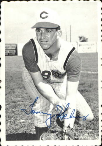 Photo of 1969 Topps Deckle Edge #20 Tommy Helms