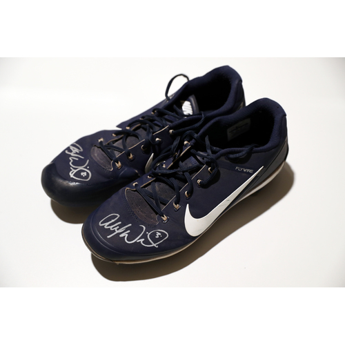 Photo of Tigers Hurricane Relief Auction: Alex Wilson Autographed Cleats