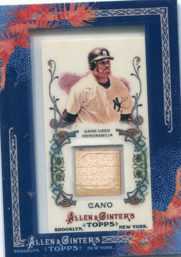 Photo of 2011 Topps Allen and Ginter Relics #RC Robinson Cano