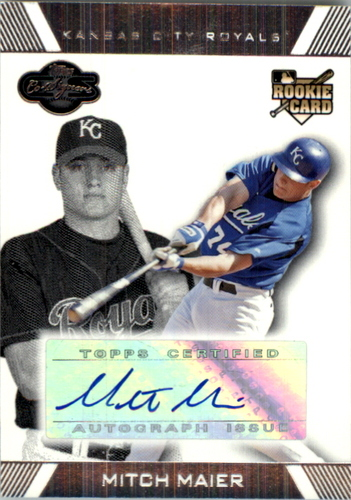 Photo of 2007 Topps Co-Signers #115 Mitch Maier AU RC
