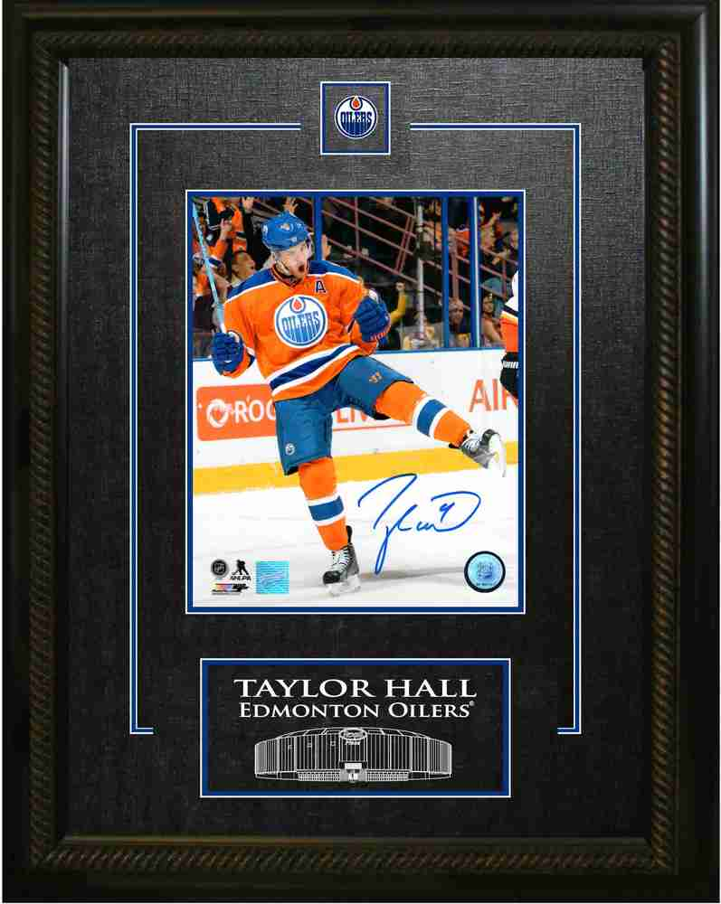 Taylor Hall - Signed & Framed 8x10