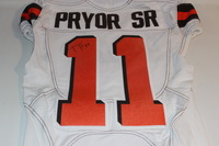 STS - BROWNS TERRELLE PRYOR GAME ISSUED AND SIGNED BROWNS JERSEY (NOVEMBER 6 2016)