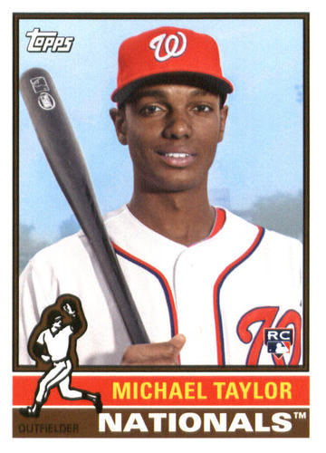 Photo of 2015 Topps Archives #135 Michael Taylor Rookie Card -- Nationals post-season