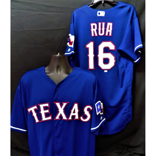 Photo of Ryan Rua 2017 Game-Used Jersey - First Career Grand Slam