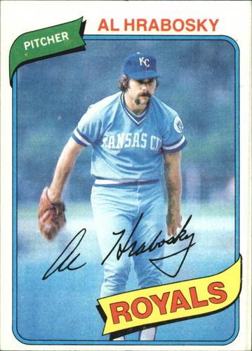 Photo of 1980 Topps #585 Al Hrabosky