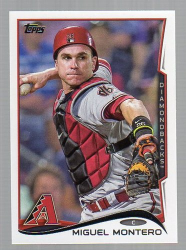 Photo of 2014 Topps #287 Miguel Montero