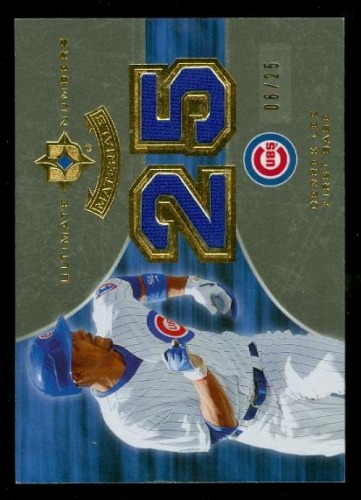Photo of 2007 Ultimate Collection Ultimate Team Materials #DL Derrek Lee/50
