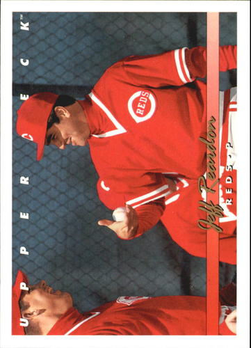 Photo of 1993 Upper Deck Gold Hologram #541 Jeff Reardon