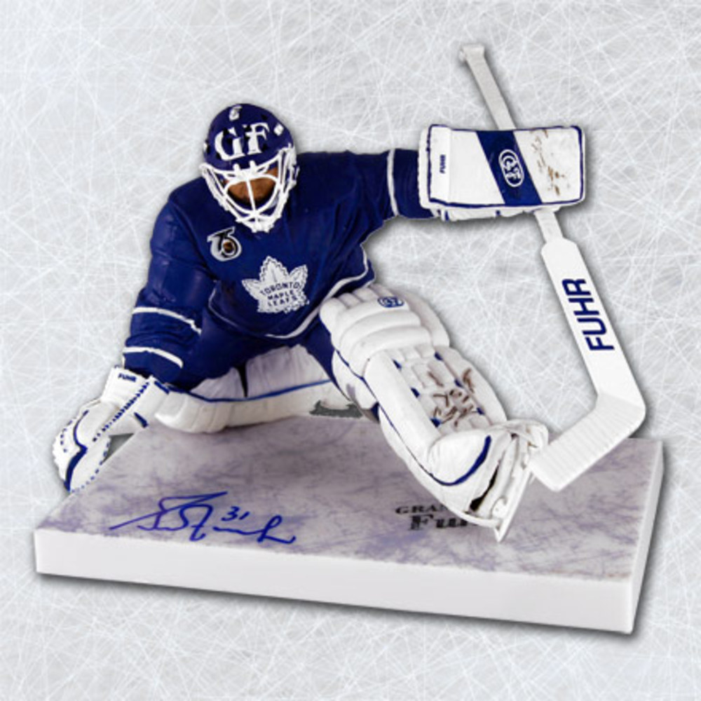 Grant Fuhr Toronto Maple Leafs Autographed McFarlane Sports Picks Figure