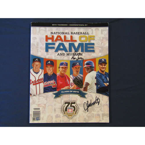 Photo of Braves Charity Auction - 2014 Autographed Hall of Fame Yearbook