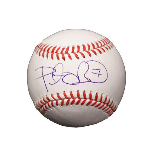 Photo of Peter O'Brien Autographed Baseball