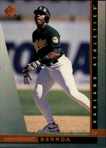 Photo of 1997 SP #132 Geronimo Berroa