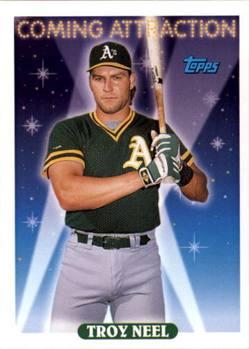 Photo of 1993 Topps #807 Troy Neel