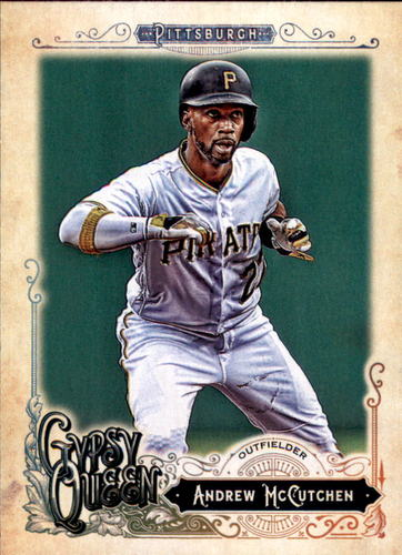 Photo of 2017 Topps Gypsy Queen #105A Andrew McCutchen
