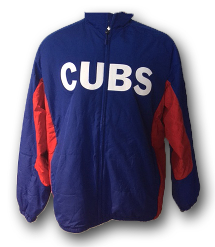 Photo of Addison Russell Team-Issued Jacket -- Size L -- Collected after 2016 Season