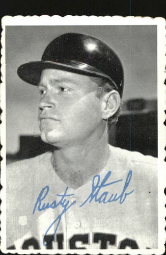 Photo of 1969 Topps Deckle Edge #22A Rusty Staub