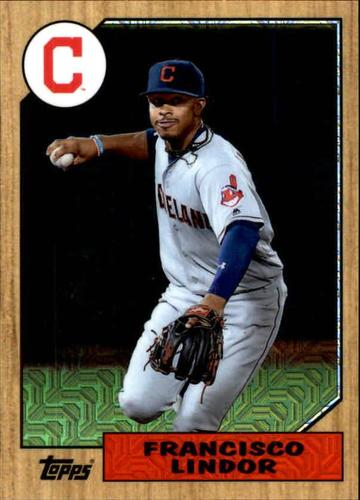 Photo of 2017 Topps '87 Topps Silver Pack Chrome #87FL Francisco Lindor