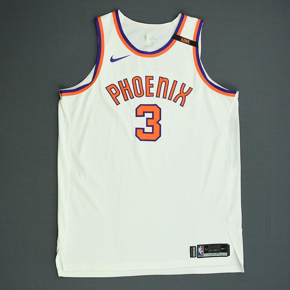 Jared Dudley - Phoenix Suns - Game-Worn Classic Edition 1968-73 Home Jersey  - 2017-18 Season