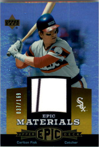 Photo of 2006 Upper Deck Epic Materials Orange #CF Carlton Fisk Jsy/169