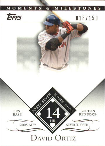 Photo of 2007 Topps Moments and Milestones #104-14 David Ortiz/HR 14