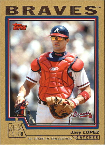 Photo of 2004 Topps Gold #78 Javy Lopez