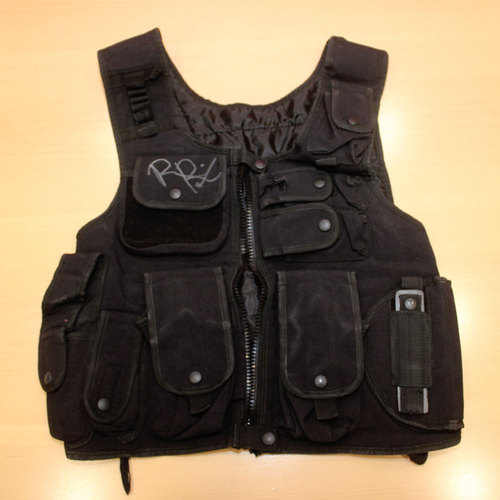 WORN & SIGNED Roman Reigns Tactical Shield Vest