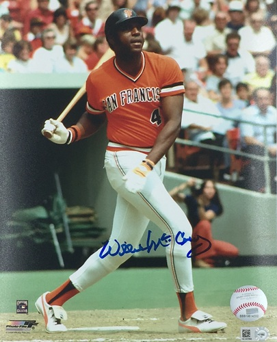 Photo of Willie McCovey Autographed 8x10