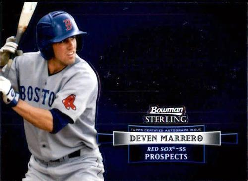 Photo of 2012 Bowman Sterling Prospect Autographs #DM Deven Marrero