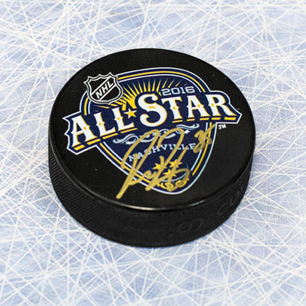 Pekka Rinne 2016 NHL All Star Game Autographed Hockey Puck - Nashville Predators