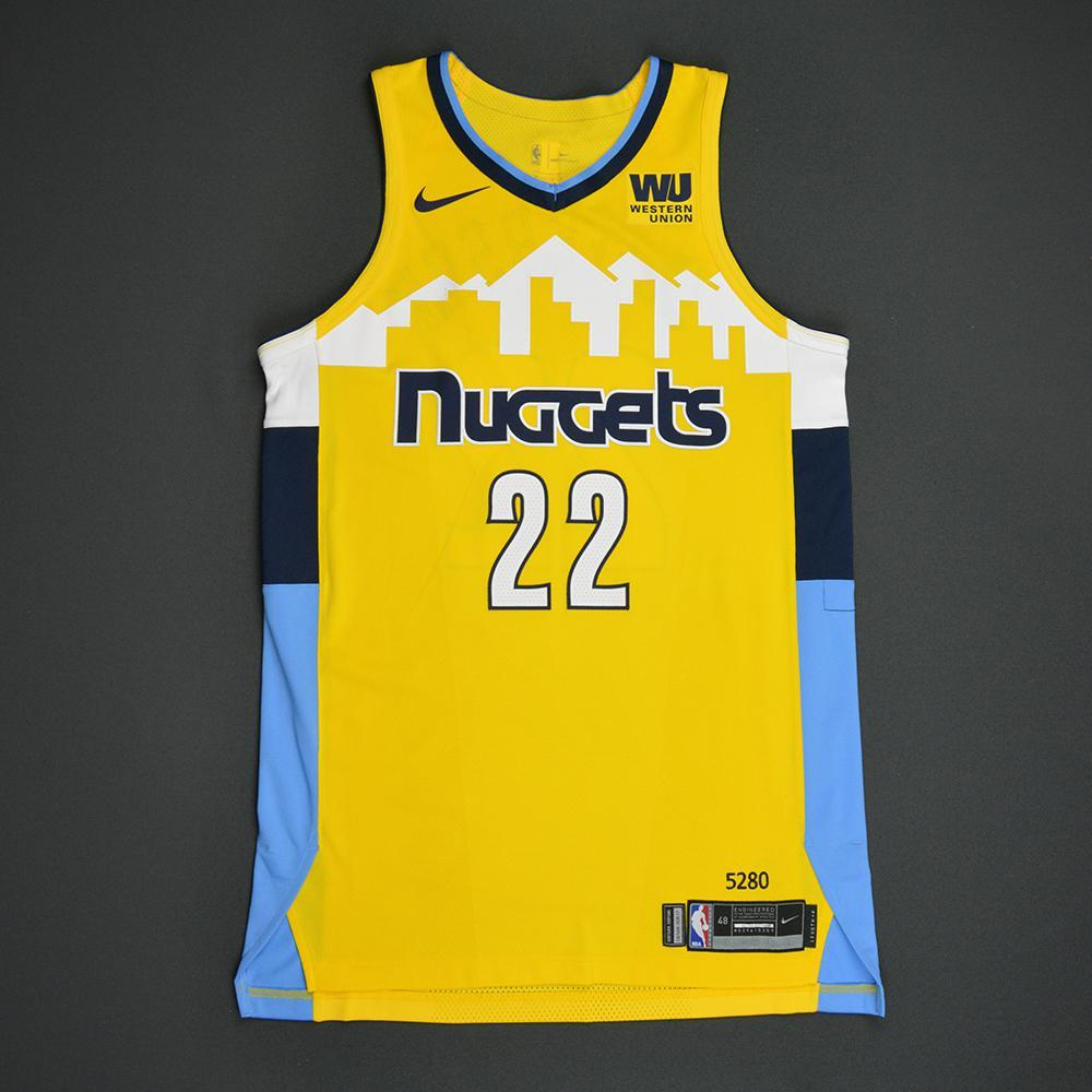 Richard Jefferson - Denver Nuggets - Statement Game-Worn Jersey  - Dressed, Did Not Play - 2017-18 Season