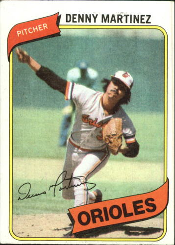 Photo of 1980 Topps #10 Dennis Martinez
