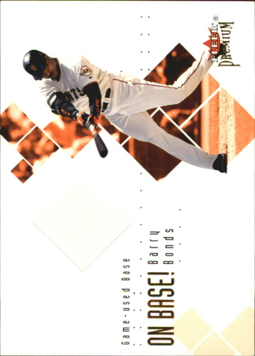 Photo of 2002 Fleer Premium On Base! Game Used #23 Barry Bonds