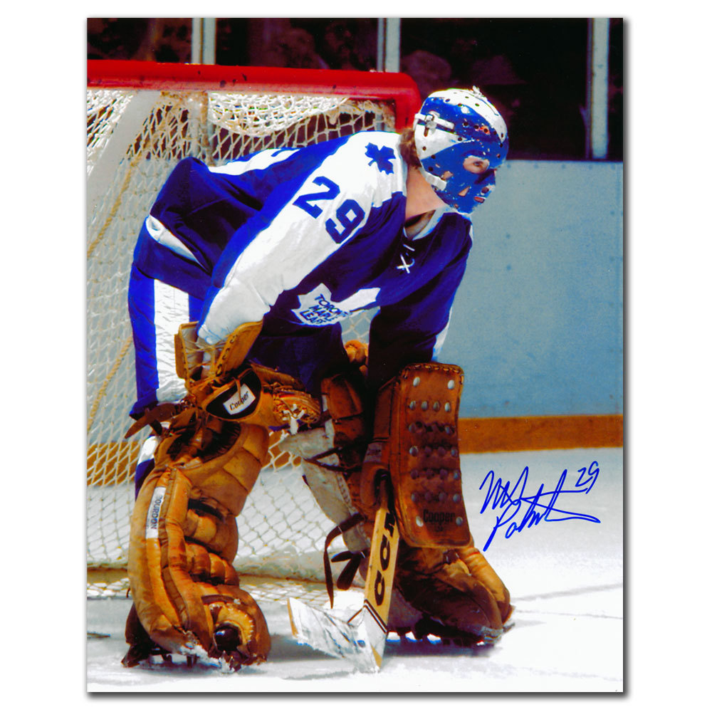 Mike Palmateer Toronto Maple Leafs Rookie Autographed 8x10