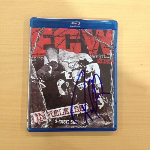 Paul Heyman SIGNED copy of ECW: Unreleased Vol. 1 Blu-ray