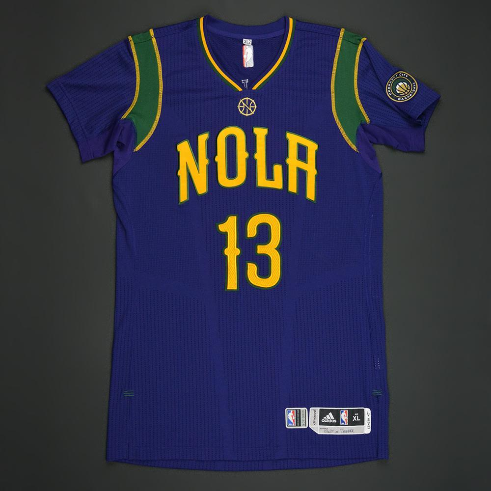 Cheick Diallo- New Orleans Pelicans - Purple 'Mardi Gras' Game-Worn Jersey - 2016-17 Season - Dressed, Did Not Play