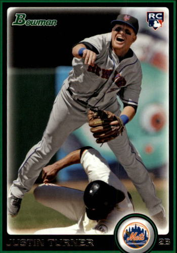 Photo of 2010 Bowman Draft #BDP105 Justin Turner Rookie Card -- Dodgers post-season