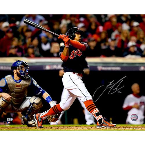 Francisco Lindor Cleveland Indians Autographed 16
