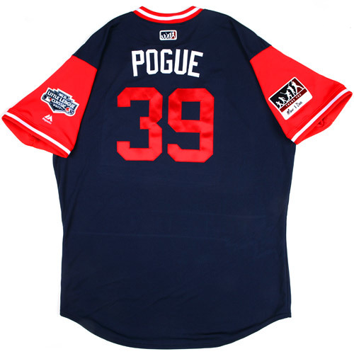 "Photo of St. Louis Cardinals Team-Issued Little League Classic Jersey -  Jamie ""Pogue"" Pogue #39"