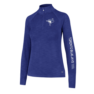 Toronto Blue Jays Shade 1/4 Zip Fleece by '47 Brand