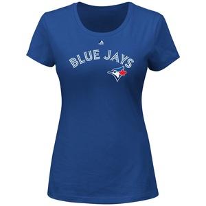 Women's Wordmark T-Shirt by Majestic