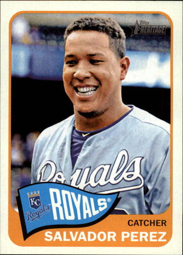 Photo of 2014 Topps Heritage #31 Salvador Perez