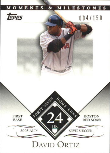 Photo of 2007 Topps Moments and Milestones #104-24 David Ortiz/HR 24