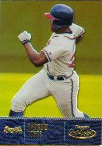 Photo of 2001 Topps Gold Label Class 1 Gold #6 Andruw Jones