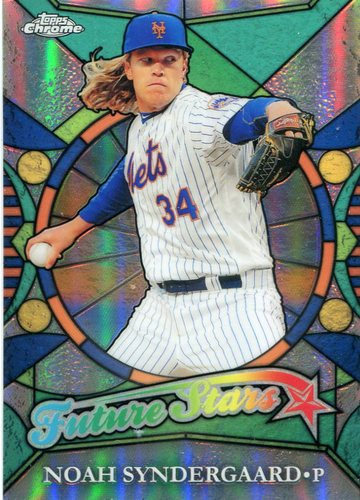 Photo of 2016 Topps Chrome Future Stars #FS10 Noah Syndergaard