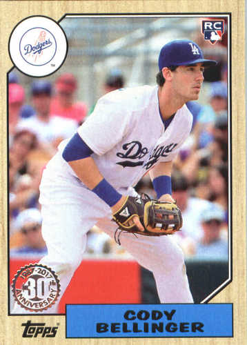 Photo of 2017 Topps Update '87 Topps #US8734 Cody Bellinger