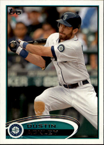 Photo of 2012 Topps #315 Dustin Ackley