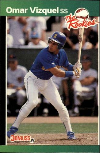Photo of 1989 Donruss Rookies #53 Omar Vizquel RC