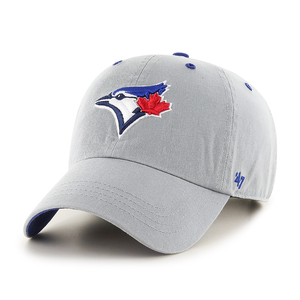 Toronto Blue Jays Crestone Clean Up Adjustable Cap Grey by '47 Brand