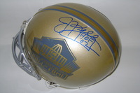 HOF - BILLS JIM KELLY SIGNED GOLD HOF PROLINE HELMET